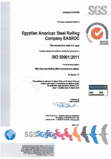 ISO 50001:2011 Energy Management